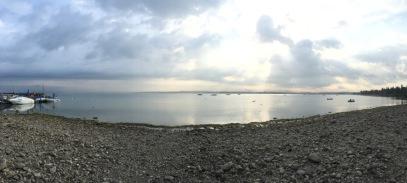 Lake Garda panorama - still a bit grey