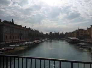 En-route to Verona; Peschiera del Garda