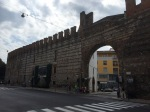 Old city walls, Verona