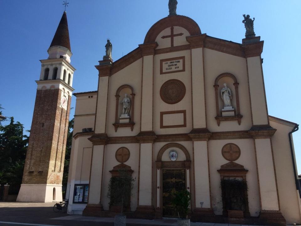 Nice church in Robegano