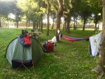 Time to pack, I hate packing up - Altanea camping, Duna Verde