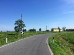 Riding through low lying landscape, near Latisana