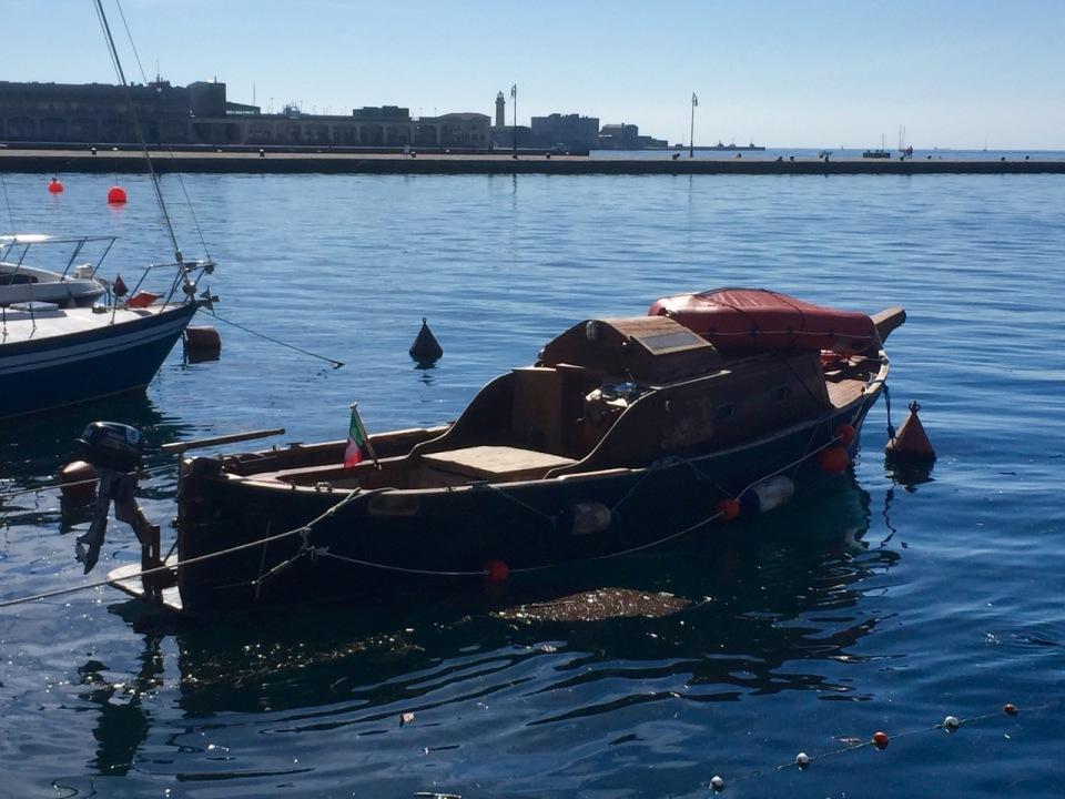 A nice little boat in Porto di Trieste