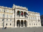 Government palace type building in Piazza Unita d'Italia, Trieste
