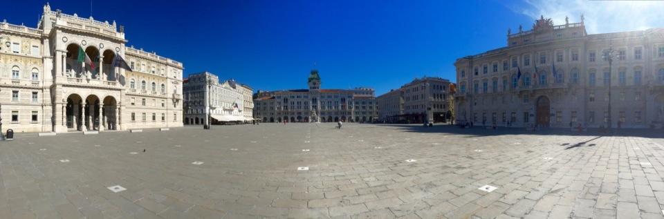 Piazza Unita d'Italia, Trieste