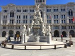 Fountain in Piazza Unita d'Italia, Trieste