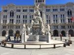Fountain in Piazza Unita d'Italia, Trieste