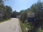 Entering Croatia (Hrvatska), no one on guard