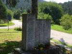 Old soviet war memorial