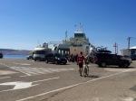 Boarding the ferry, Prizna