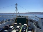 Packed ferry to Pag
