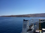 Approaching Pag; looks a but desolate