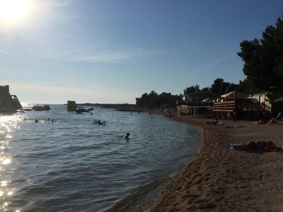 Simuni camping resort - nice beach
