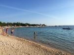 A swim in the Adriatic couldn't come fast enough