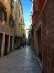 Sibenik's narrow medieval streets
