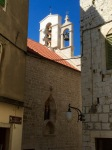 Sibenik - bells in church tower
