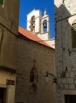 Sibenik - bells in church tower