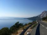 Long climb up to Podgora