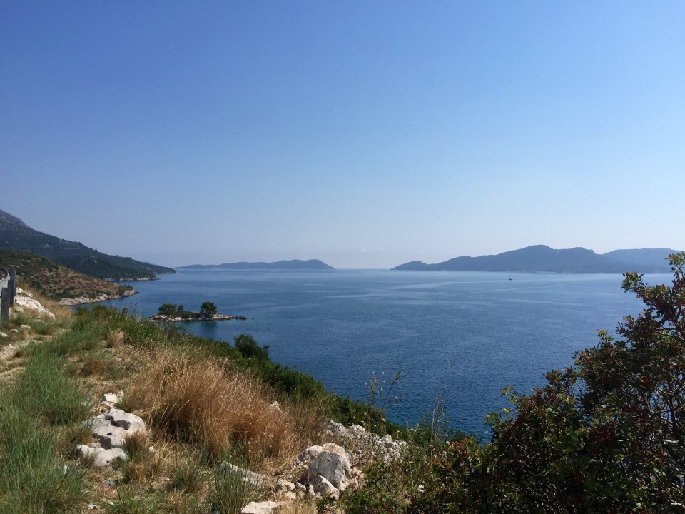 Coastline continues to Dubrovnik