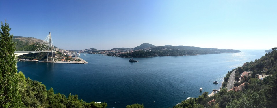 Made it to Dubrovnik; once I've crossed the bridge