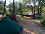 Set up at Camping Solitudo