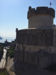 Arriving in the Old City of Dubrovnik