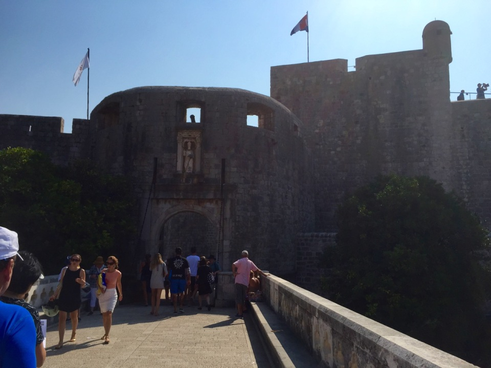 Western Ploce Gate - stays open these days