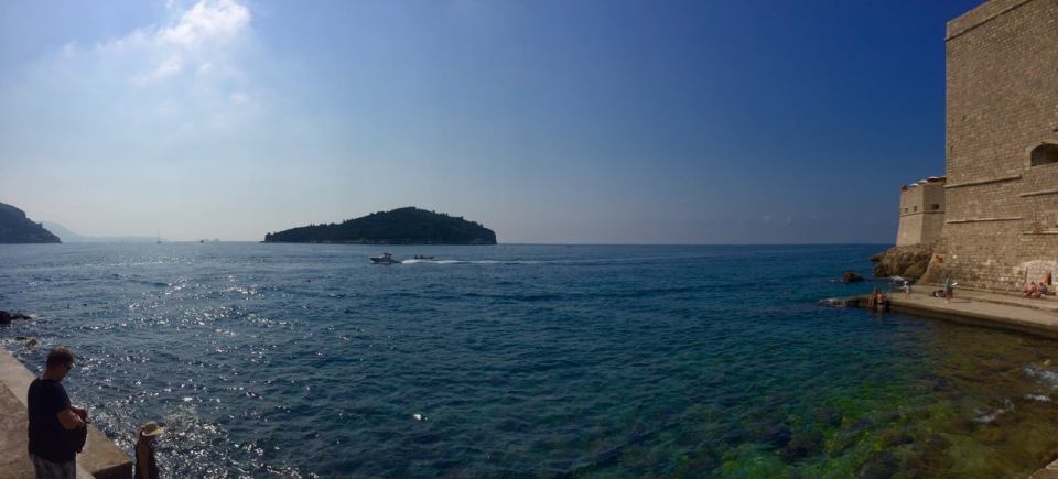 Panorama from Dubrovnik harbour