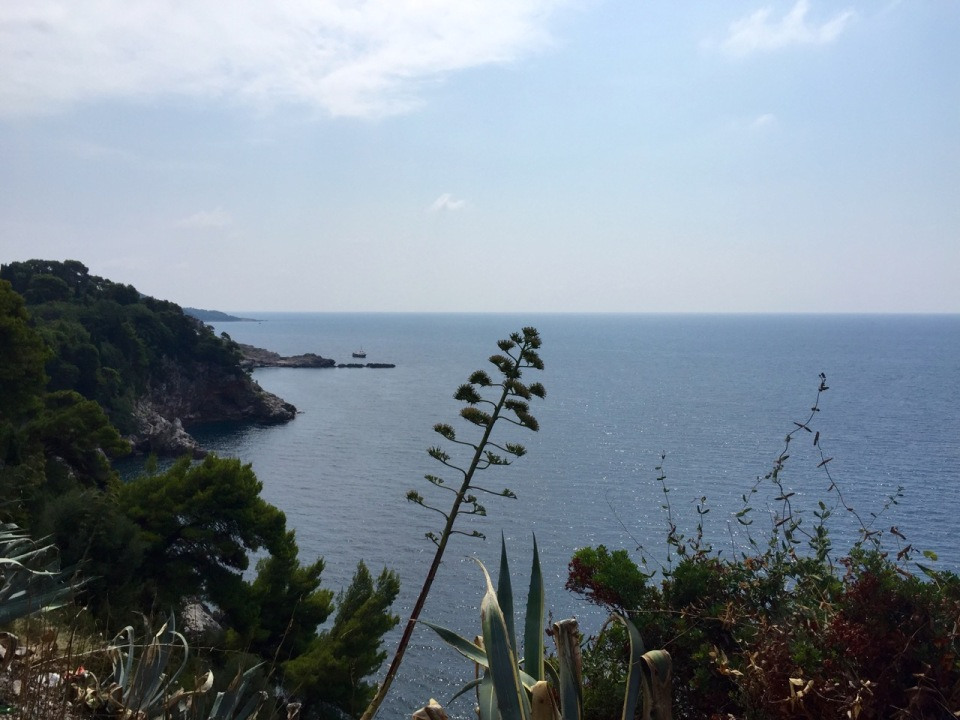 Arty photo, Dubrovnik coast
