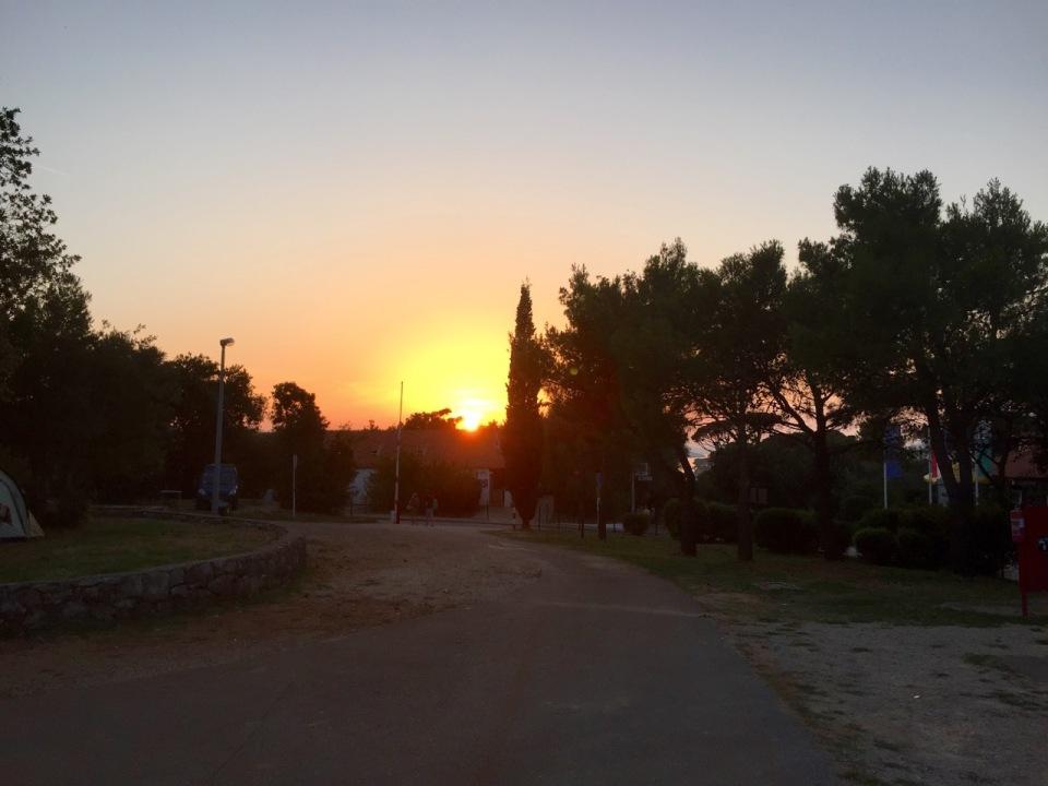 Sun sets over Solitudo