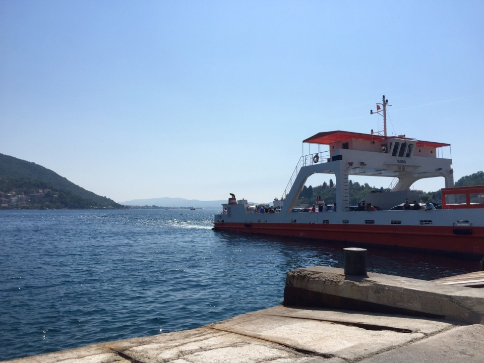 I could have taken this ferry and saved myself 25km