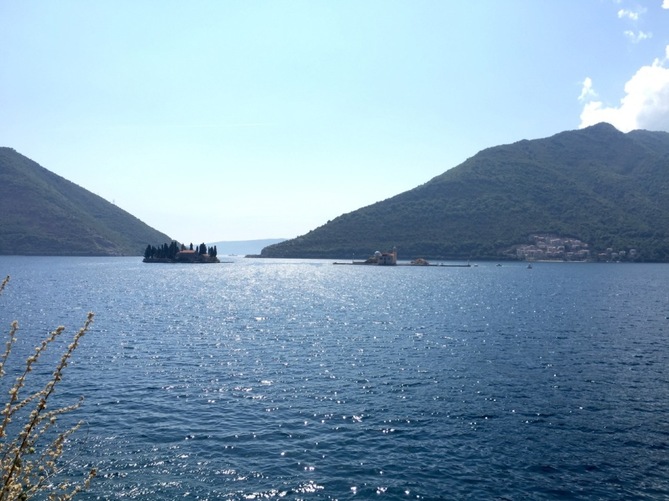 But the views around this inland bay near Tivat were too good to miss