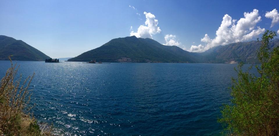 Panorama from neat Perast