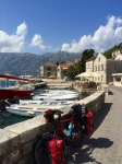 Smug taking a break in Perast