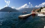 Perast harbour