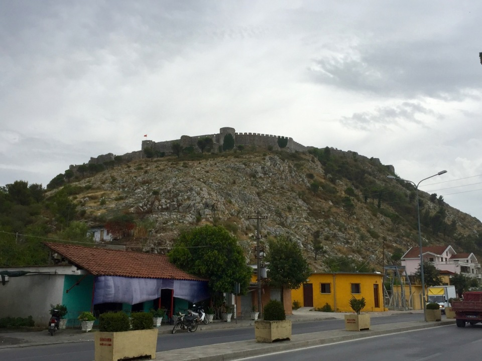 Hill top fortress in Shkodër, Albania