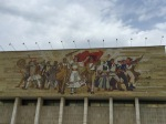 Patriotic Albanian fresco