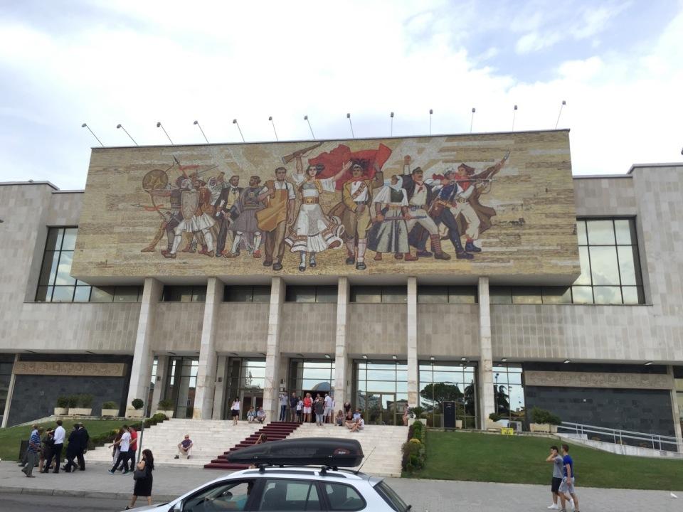 Made it to Tirana, Albania