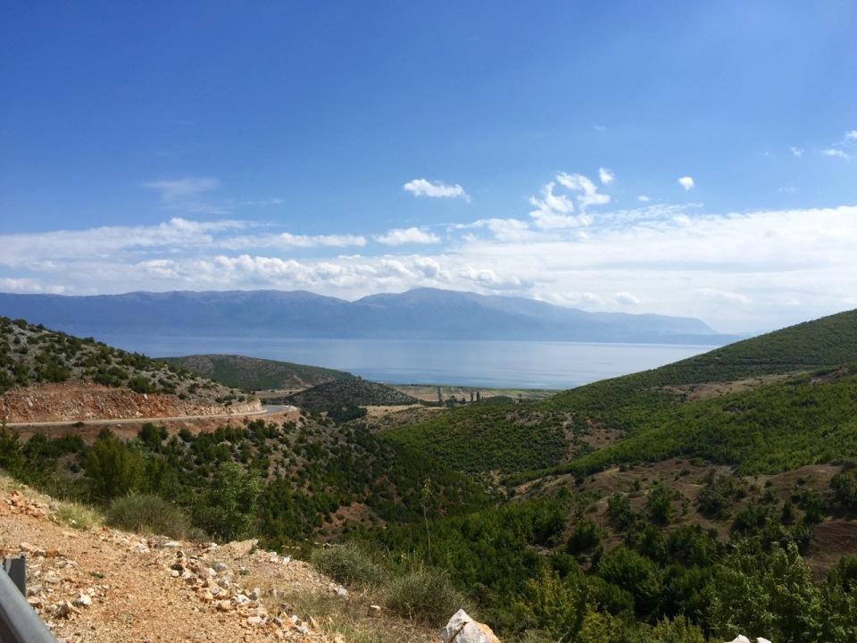 Descent to Lake Ohrid