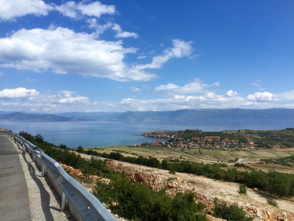 Descent to Lake Ohrid 2 - still pretty high