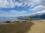 Pogradec beach 2 - waterslide!