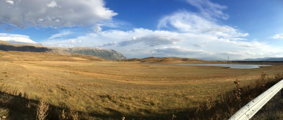 Panorama near Podgorie