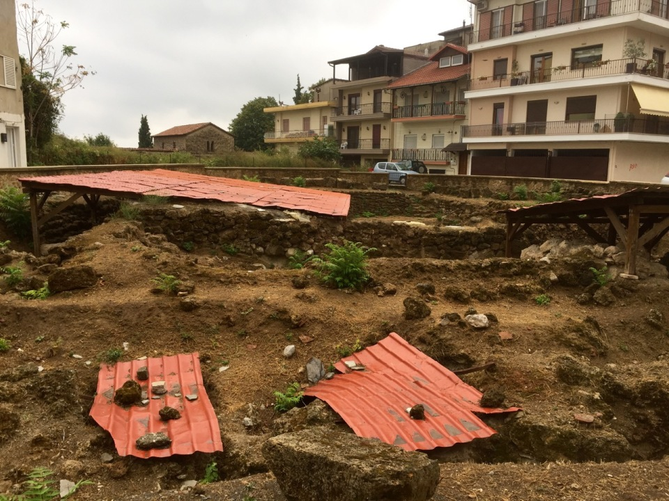 Prehistoric archaeology in old town