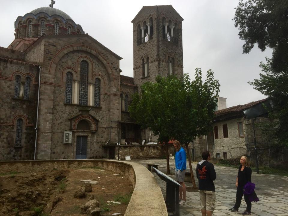 Old town church, Edessa