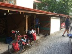 Packing up in Edessa