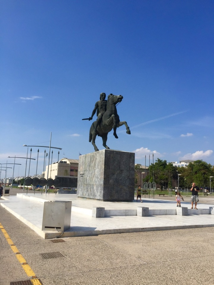 Alexander the Great; he was from round these parts