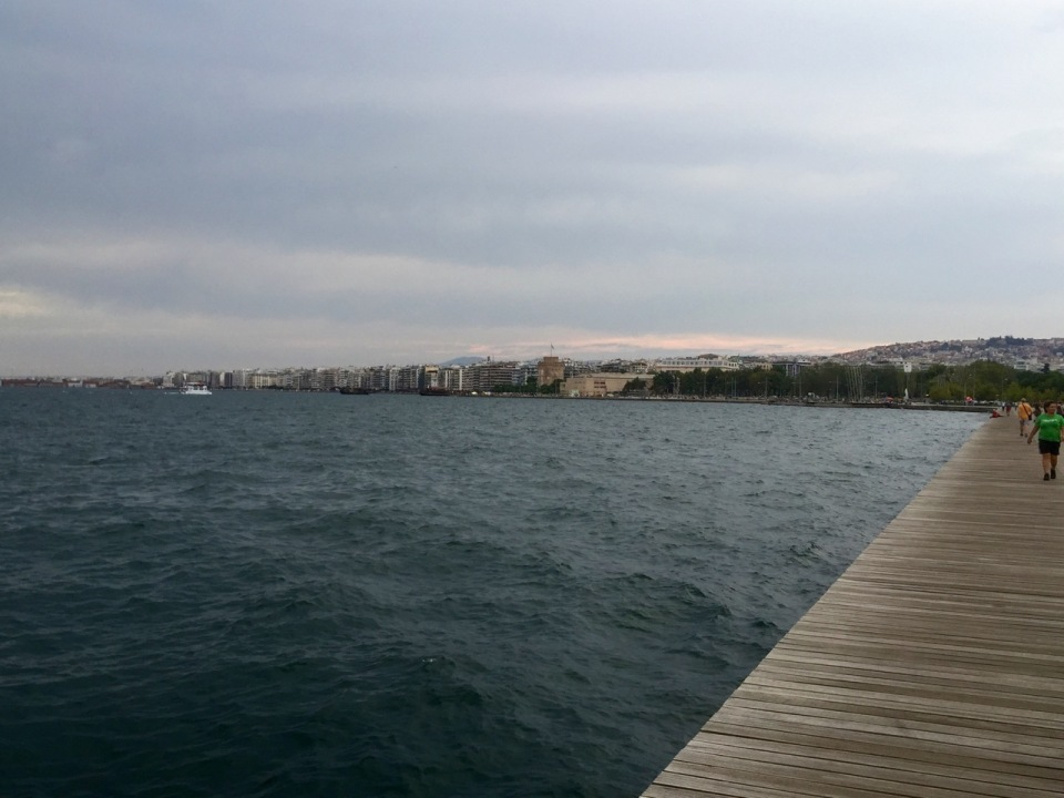Thessaloniki waterfront - nice place for a stroll