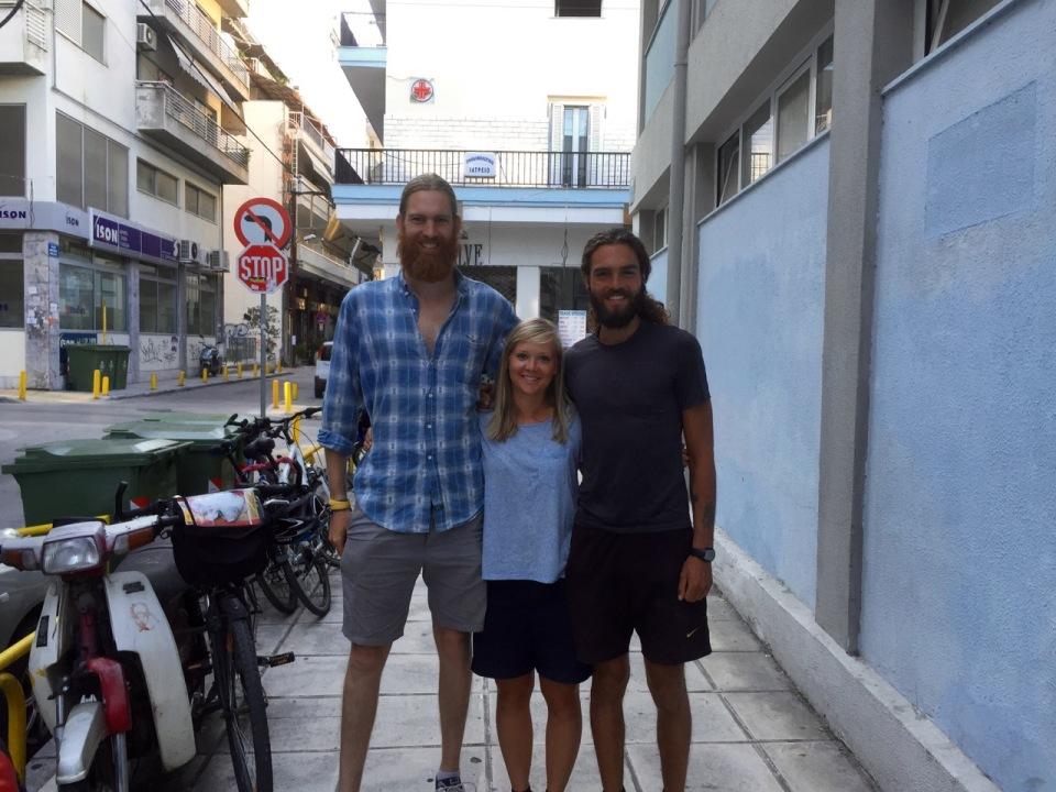 Team Thessaloniki - Tom, Clara and Jorn