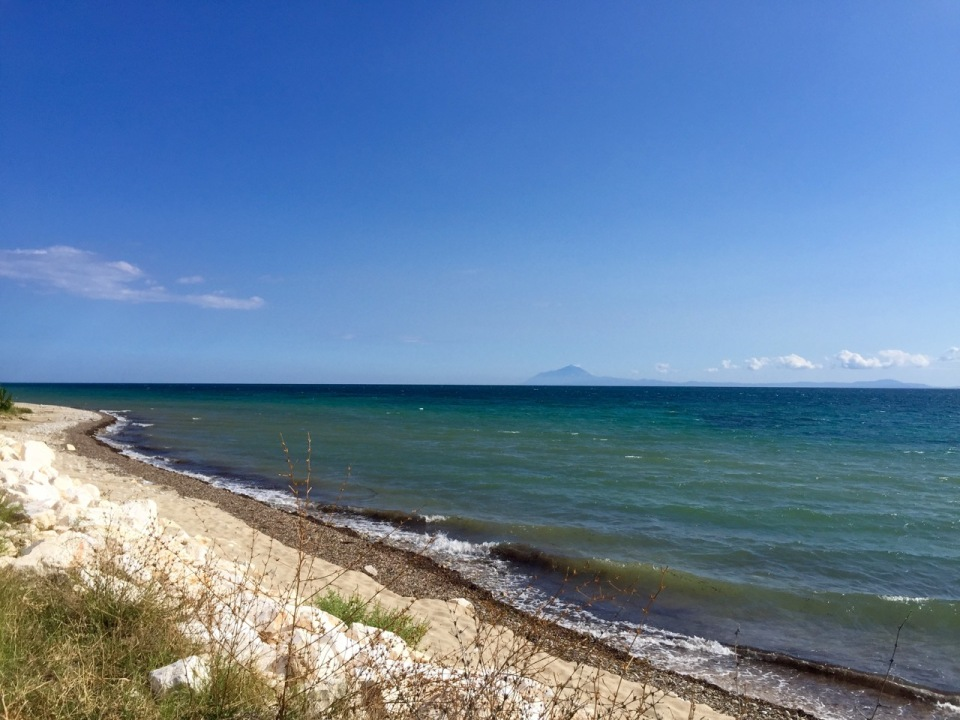 Water looks very tempting, however beware sea urchins!!