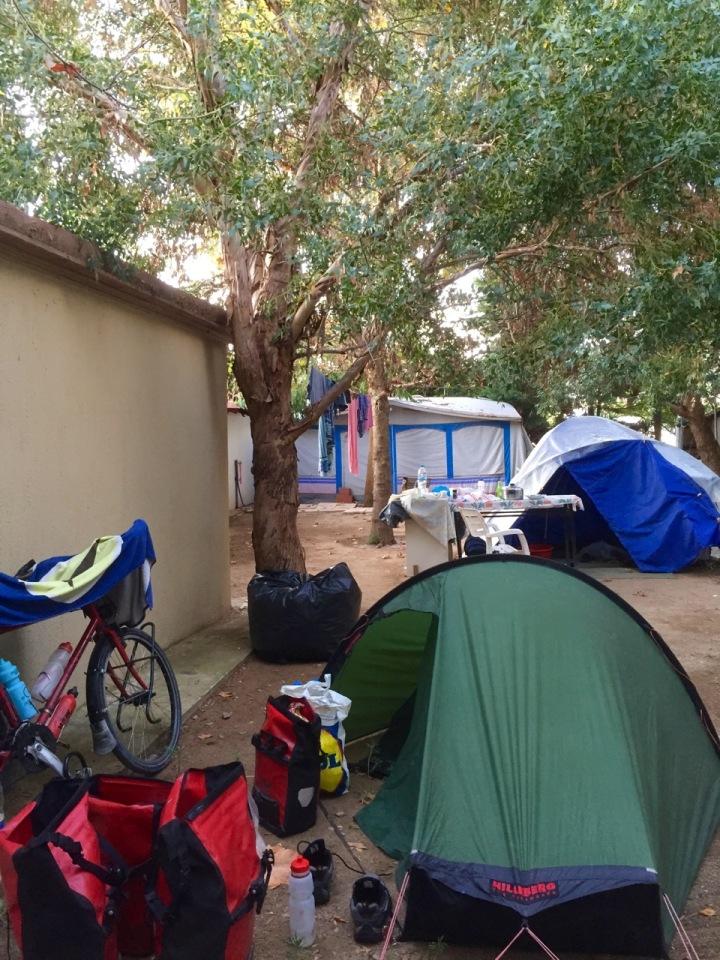 Camping at Paradiso, Nea Iraklitsa